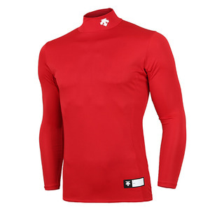 [DESCENTE] S8311WCO04 RED0 STD-751 컴프레션 상의(RED)